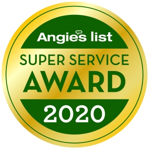 Image of Angie's List Super Service Award 2020 for Standard Insulating Company