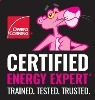 Image of Owens Corning Certified Energy Expert logo for Standard Insulating Company of Charlotte, NC