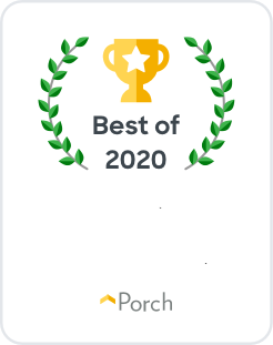 logo for Porch Best of 2020 Insulation Contractor Charlotte, NC for Standard Insulating Company
