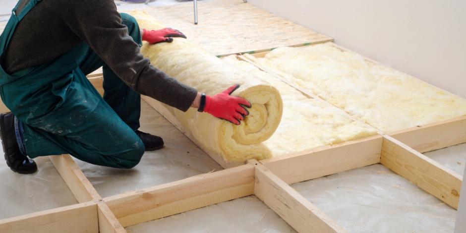 installation of insulation