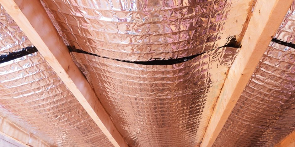 radiant barrier in attic space