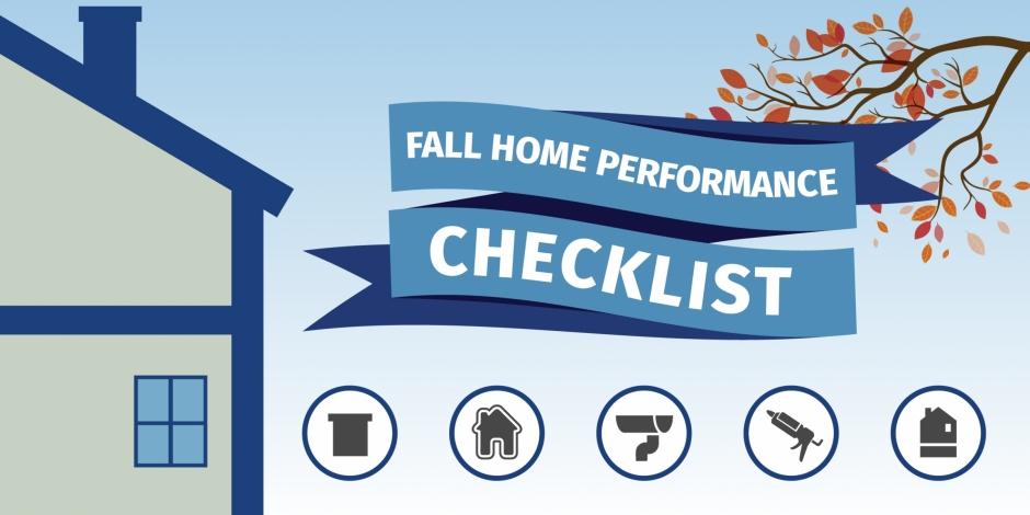 Standard Insulating fall check list icons